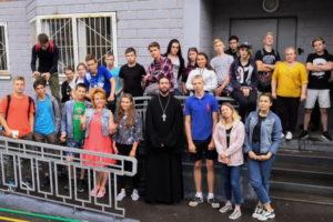 Встреча со священником в центре «Семья» г. Балашихи