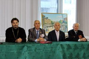 Встреча с ветеранами в Фонде социальной поддержки населения г. Реутова