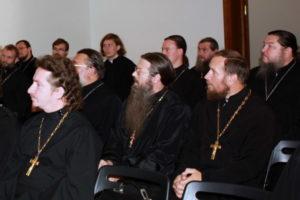Пастырский семинар в Балашихинском благочинии