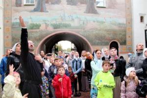 Паломничество саввинской воскресной школы в Троице-Сергиеву Лавру