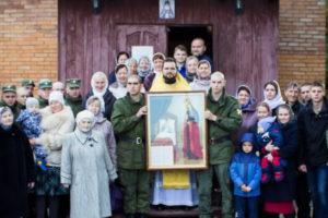 Юбилей воинского храма в дивизии им. Дзержинского