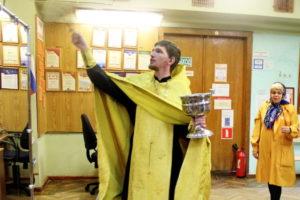 Освящение библиотеки в Заре