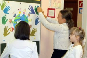Празднование Дня доброты в школе для особых детей