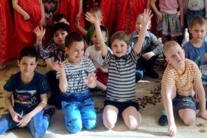 Беседа в детском саду в Саввино