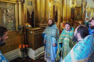 Праздник Боголюбской иконы Божией Матери в Павлино
