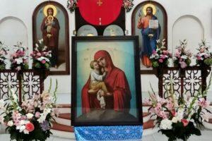 Престольный праздник в Почаевском храме