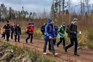 Туристический поход по Озерскому лесопарку