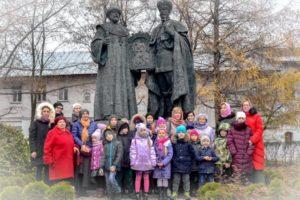 Воскресная школа Троицкого храма г. Реутова в Новоспасском монастыре