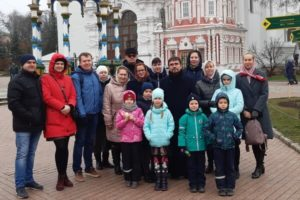 Паломничество детсадовцев в Сергиев Посад