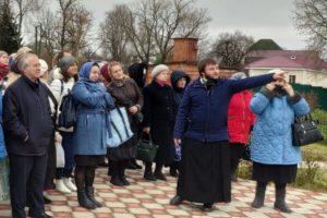 Трубецкие паломники в Серпухове