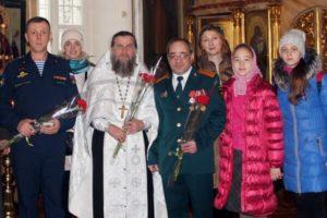 День памяти воинов в Саввино