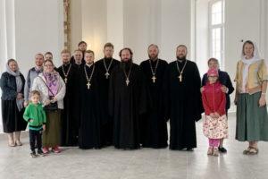 Балашихинская делегация в Пересветово
