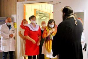 Освящение реабилитационного центра в Федурново