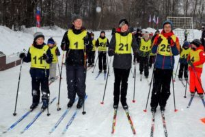 Спортивный праздник воскресных школ в Полтево