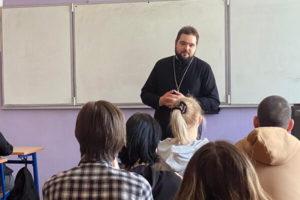 Беседы со студентами в Балашихе