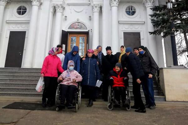 Экскурсия в Троицком храме в Павлино