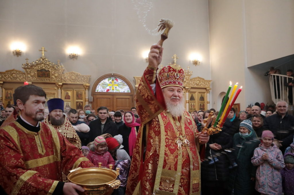 Архиерейское богослужение в Неделю Антипасхи в Балашихе
