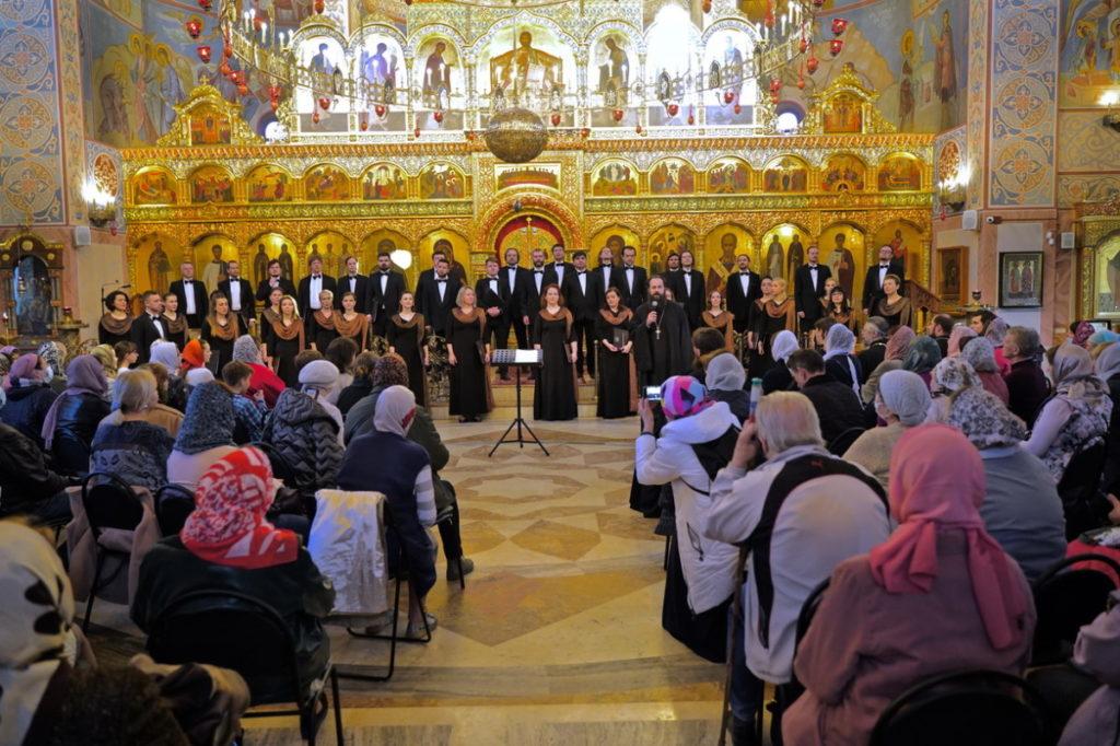 Концерт хора Мариинского театра в Троицком храме г. Реутов