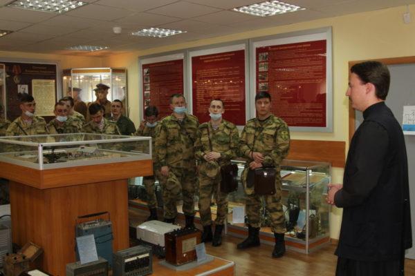 Беседа с офицерами Центрального узла связи Войск национальной гвардии