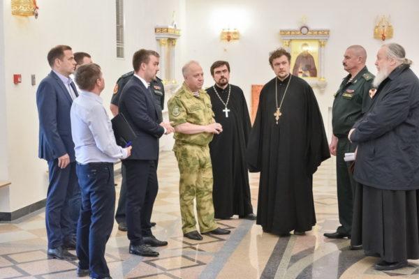 Заседание рабочей группы по подготовке к великому освящению Князь-Владимирского храма г. Балашиха