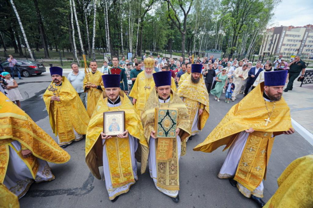 День памяти святого равноапостольного князя Владимира в Князь-Владимирском храме г. Балашихи