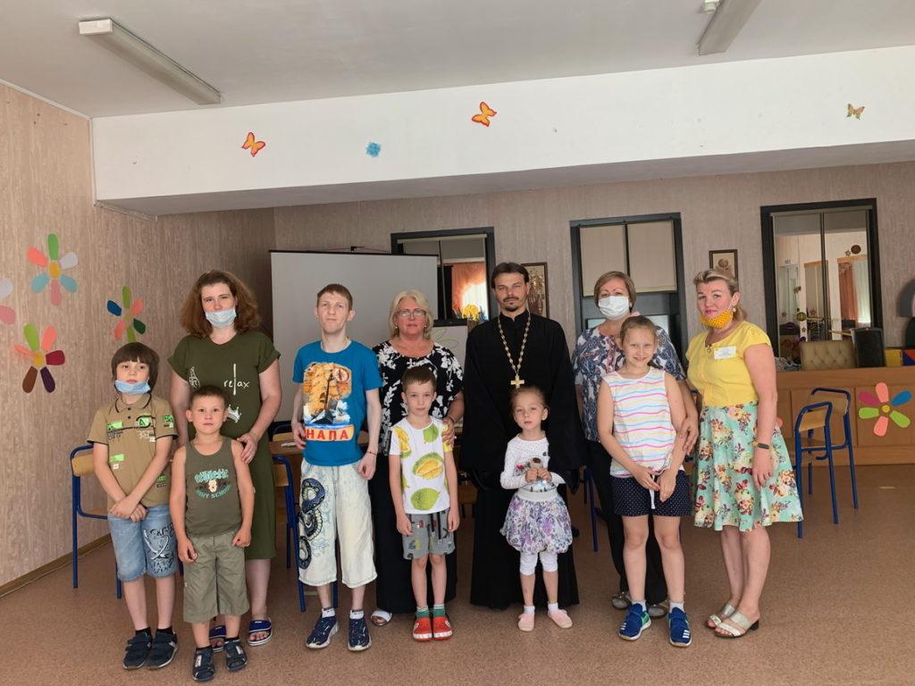 День семьи, любви и верности в социально-реабилитационном центре г. Реутов