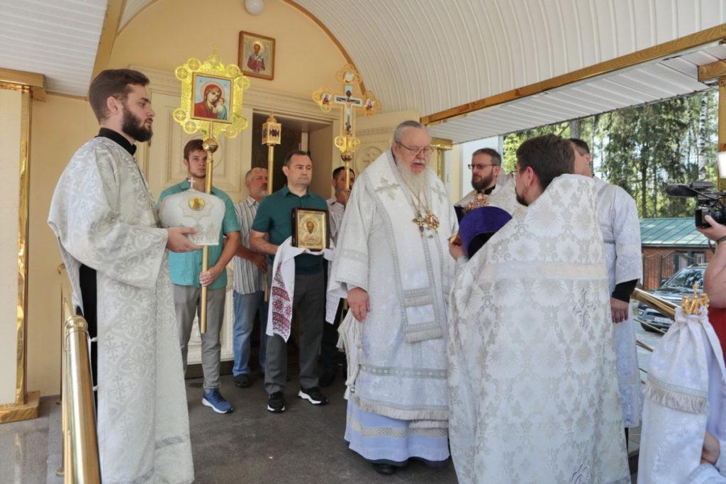 Пятилетие со дня Великого освящения Никольского храма г. Балашихи