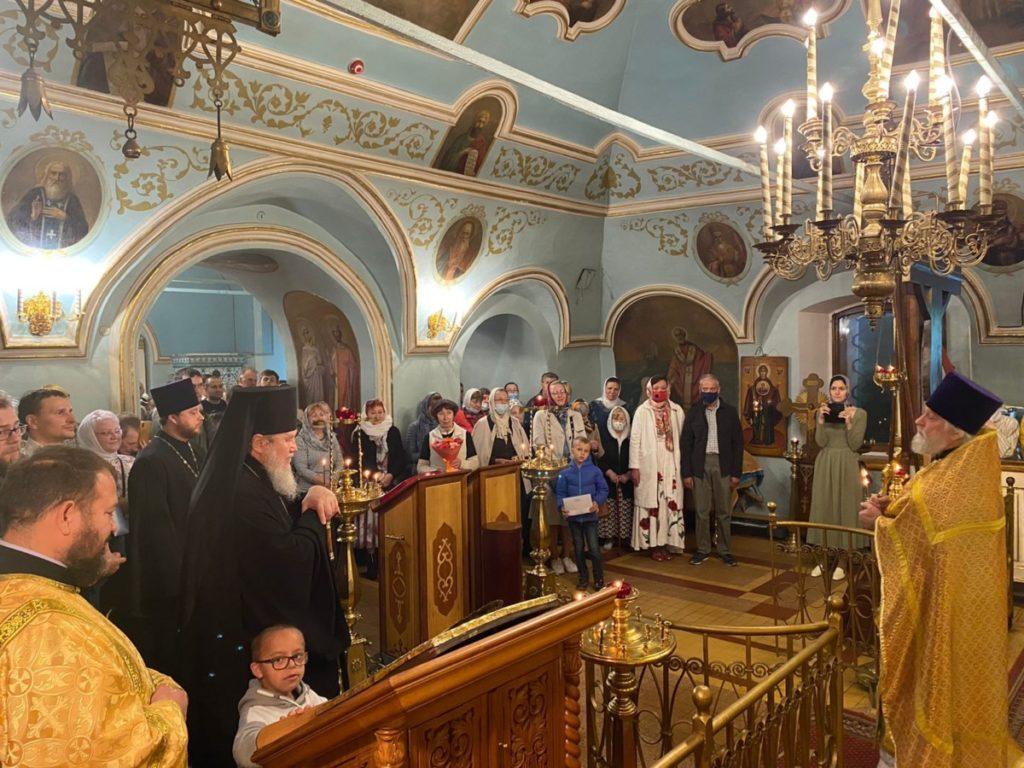 Архипастырский визит в Николо-Архангельский храм