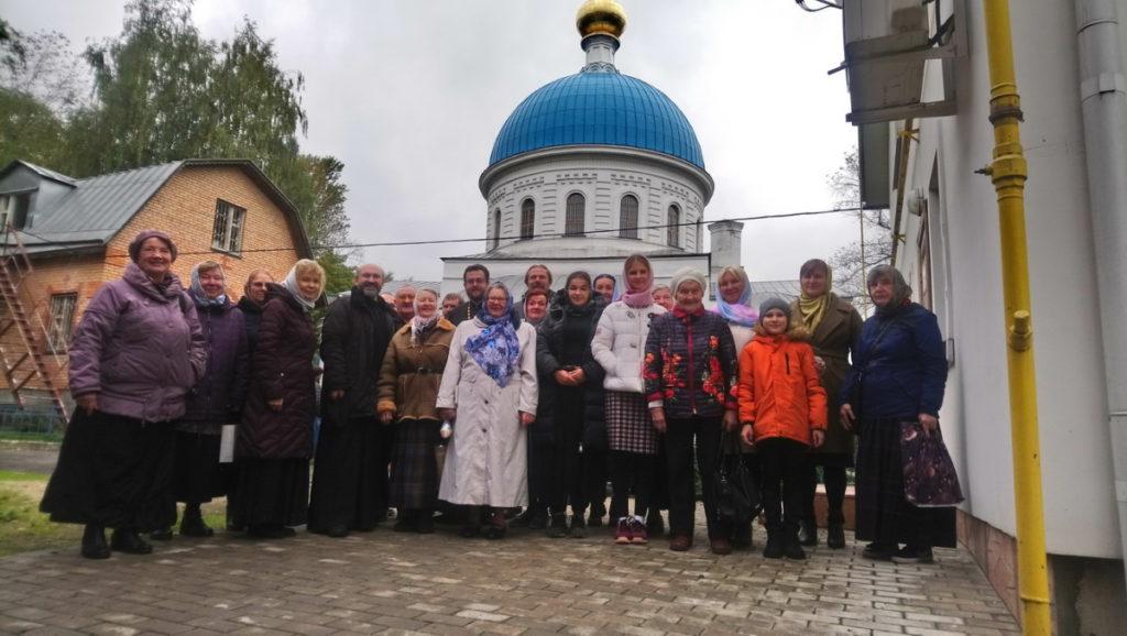Паломническая группа Коломенской епархии в Балашихинском благочинии