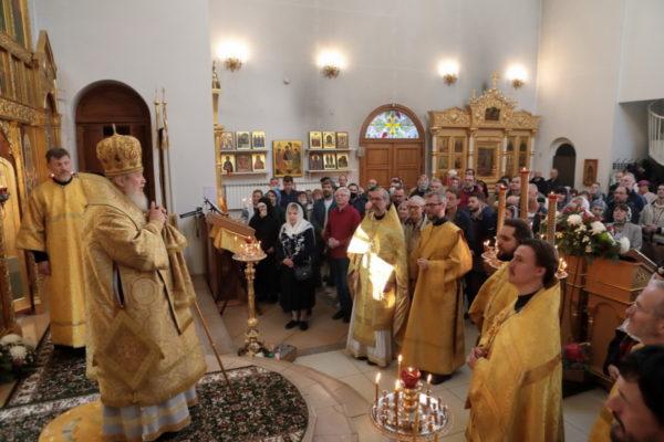 Престольный праздник в Александро-Невском храме г. Балашихи