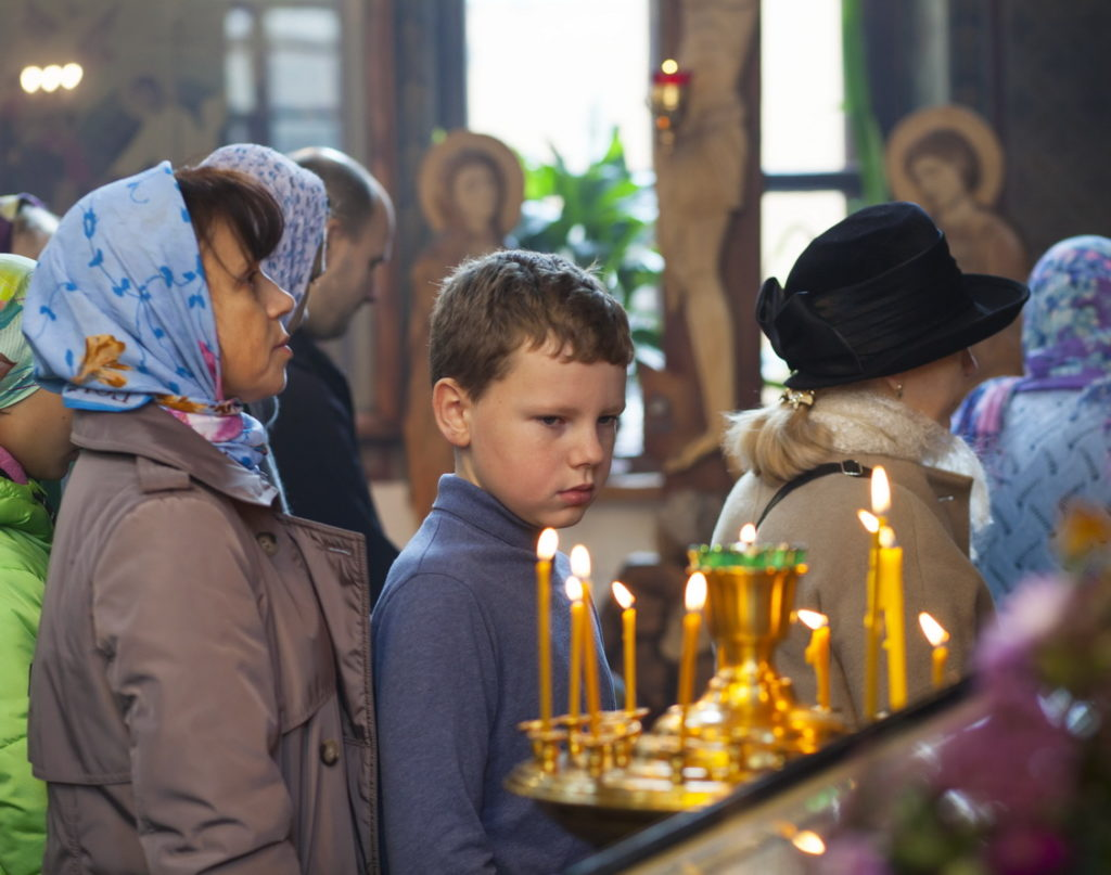 Праздничные мероприятия в Троицком храме в Железнодорожном