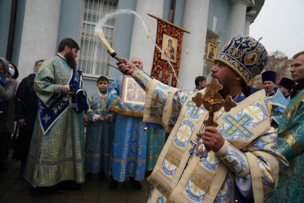 Престольный праздник на приходе Покровского храма г. Балашихи