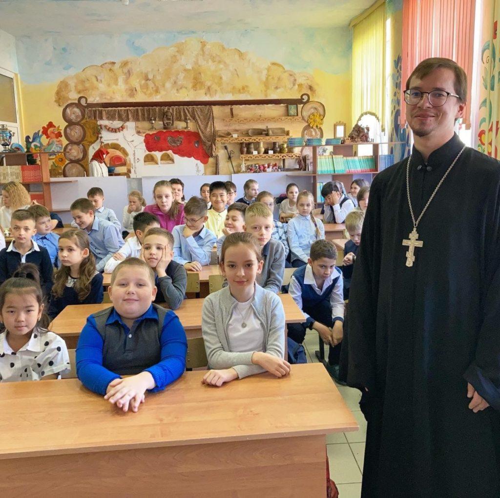 Встреча в школе № 3 микрорайона Павлино