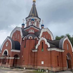 Почаевский храм в Салтыковке